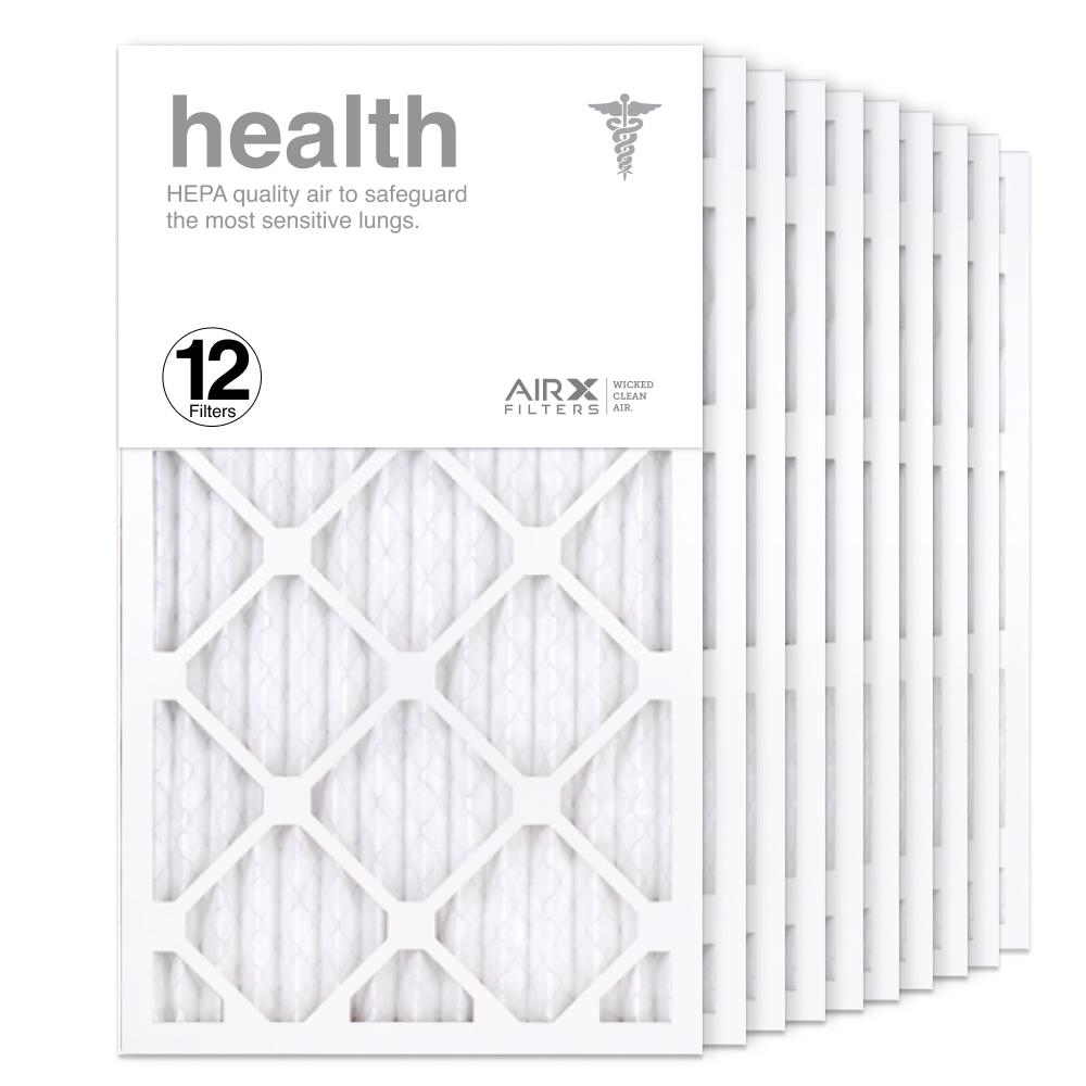 14x24x1 AIRx HEALTH Air Filter, 12-Pack