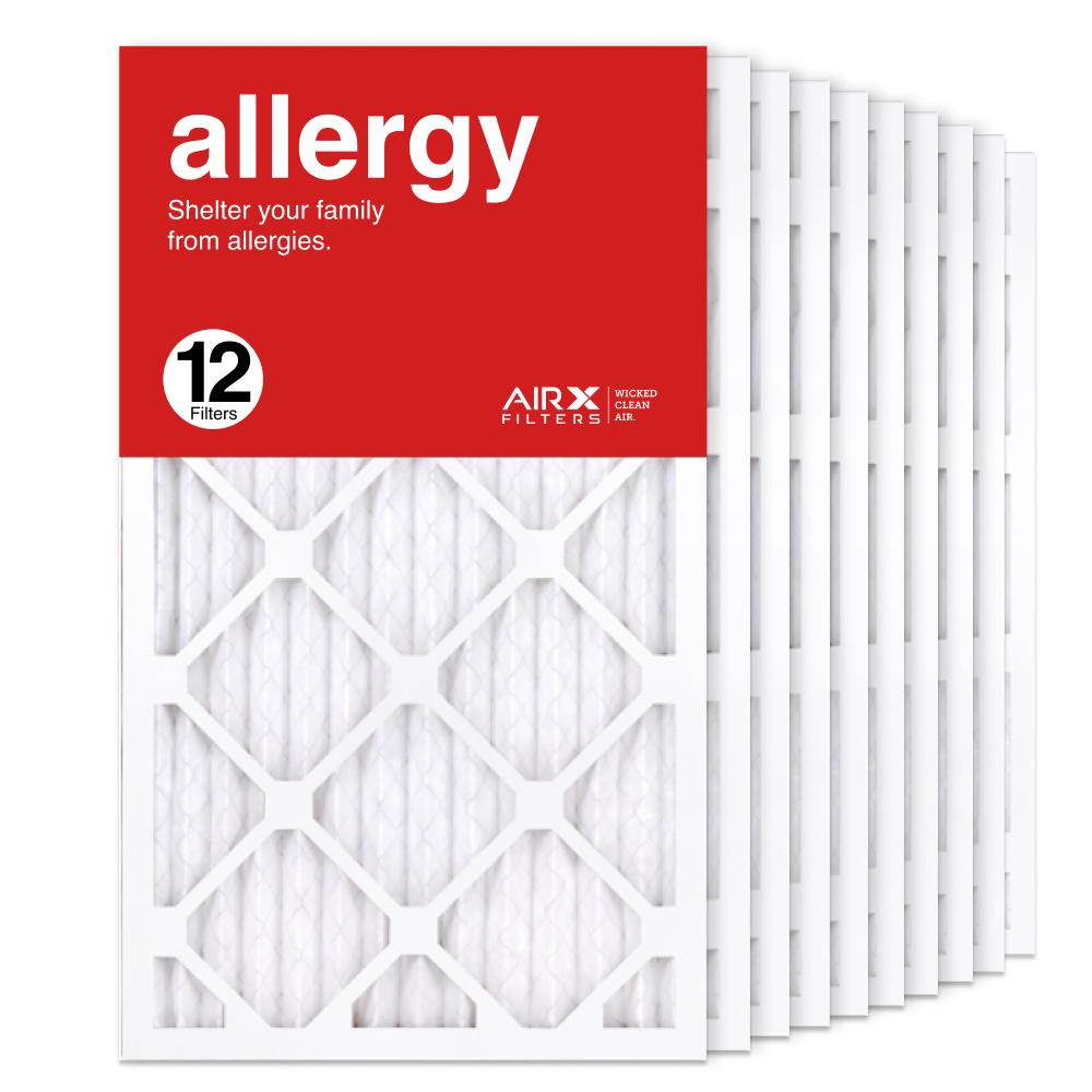 14x25x1 AIRx ALLERGY Air Filter, 12-Pack