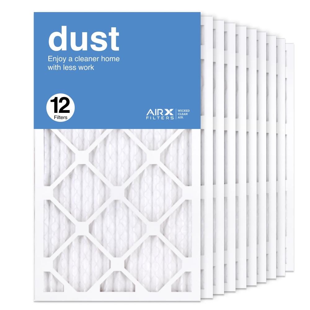 14x25x1 AIRx DUST Air Filter, 12-Pack