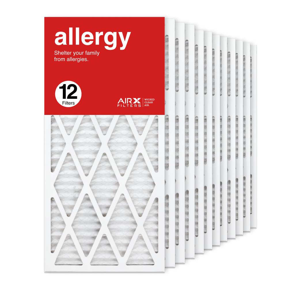 14x30x1 AIRx ALLERGY Air Filter, 12-Pack