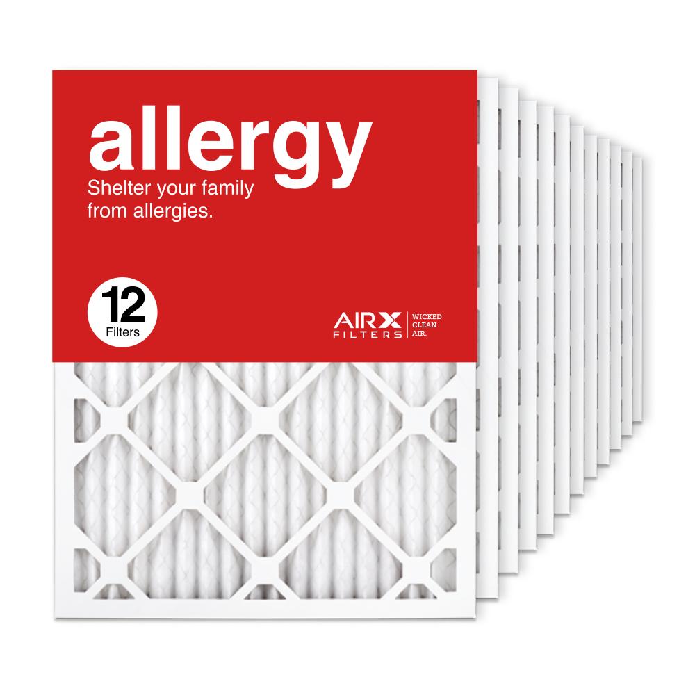 16.375x21.5x1 AIRx ALLERGY Air Filter, 12-Pack