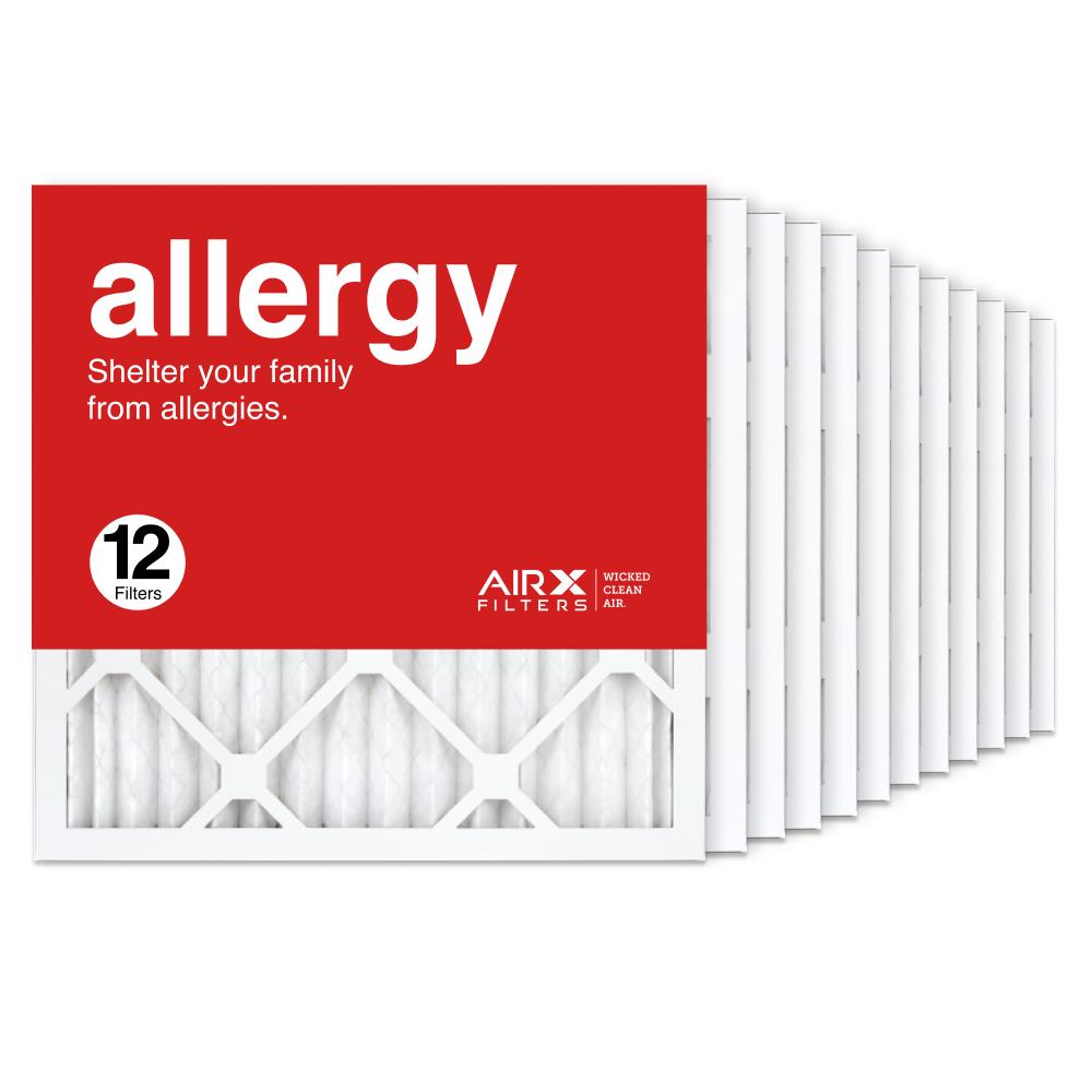 16x16x1 AIRx ALLERGY Air Filter, 12-Pack