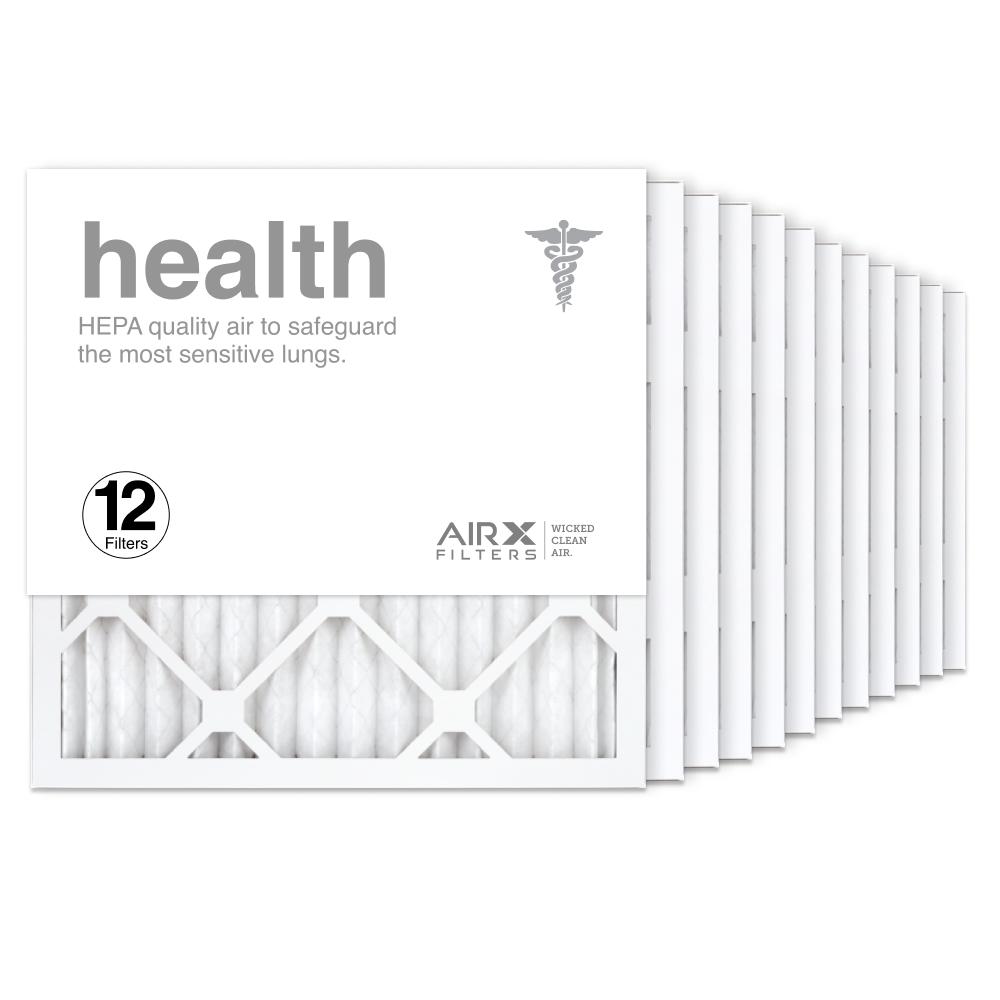 16x16x1 AIRx HEALTH Air Filter, 12-Pack