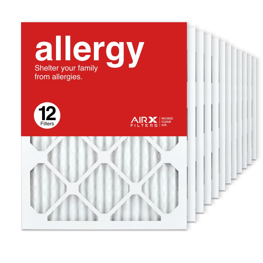 16x20x1 AIRx ALLERGY Air Filter, 12-Pack