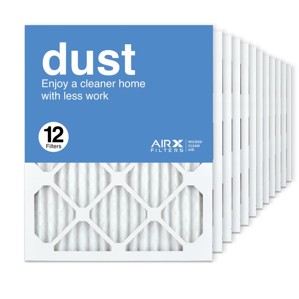 16x20x1 AIRx DUST Air Filter, 12-Pack