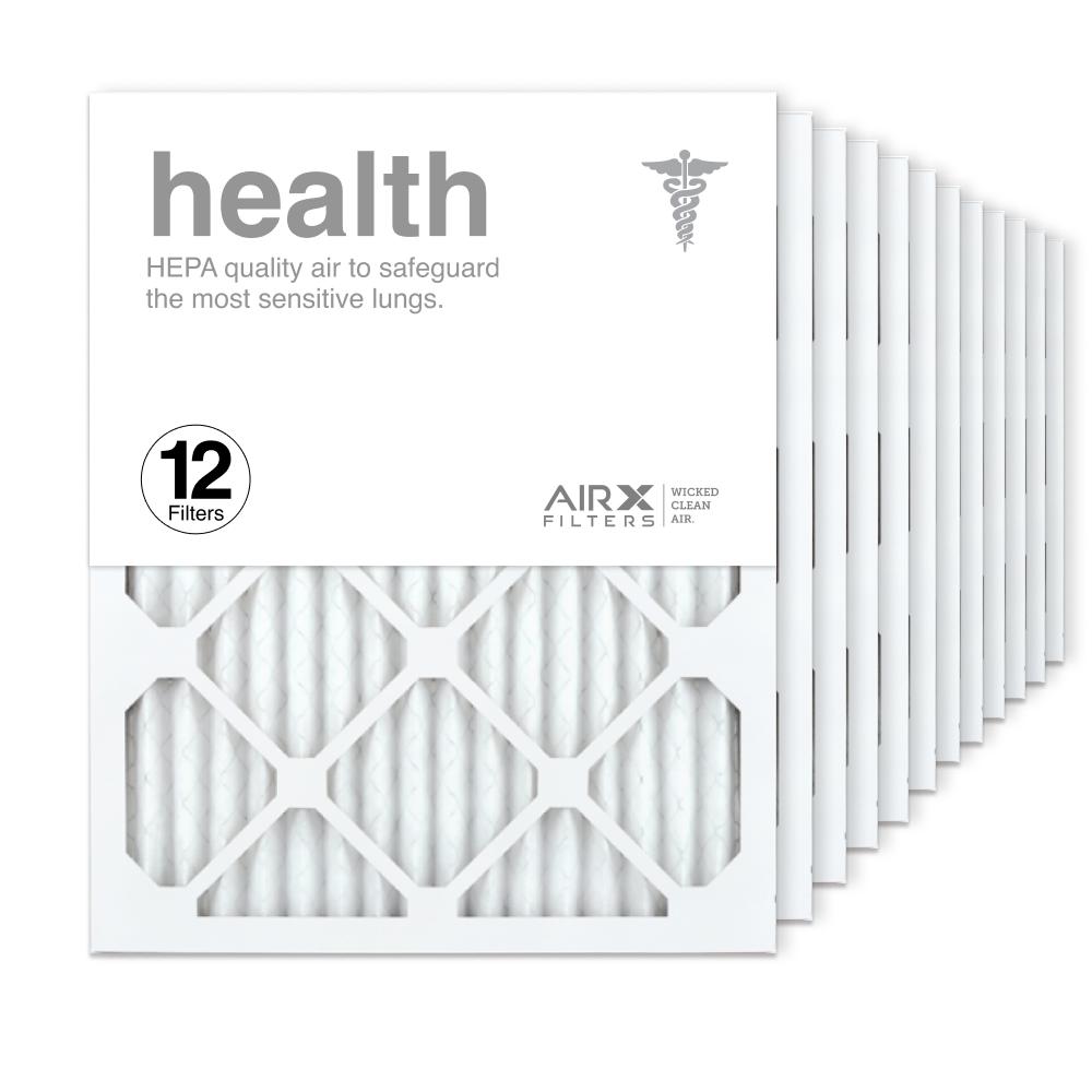 16x20x1 AIRx HEALTH Air Filter, 12-Pack