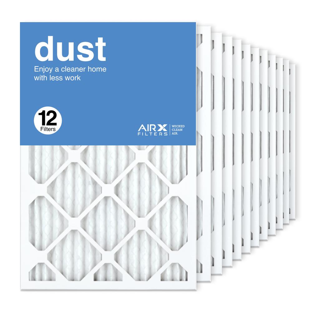 16x24x1 AIRx DUST Air Filter, 12-Pack