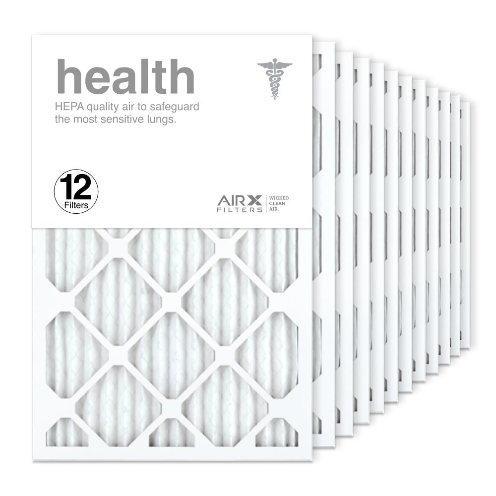 16x24x1 AIRx HEALTH Air Filter, 12-Pack