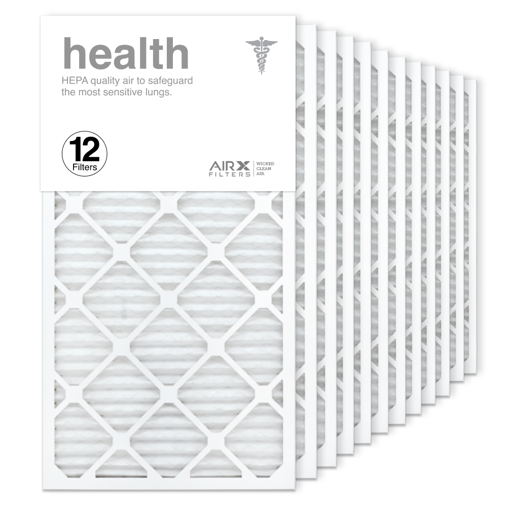 16x30x1 AIRx HEALTH Air Filter, 12-Pack