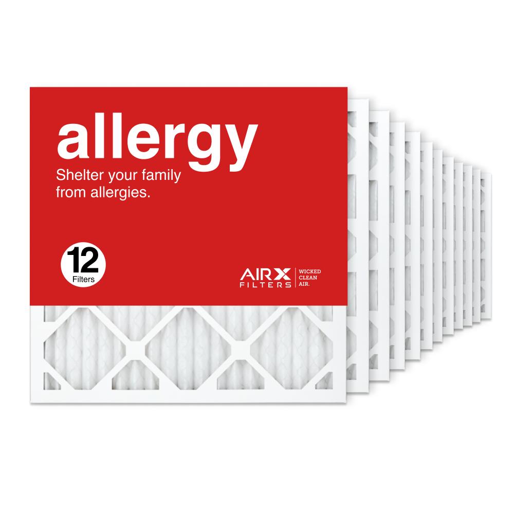 18x18x1 AIRx ALLERGY Air Filter, 12-Pack