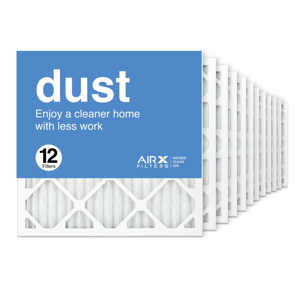 18x18x1 AIRx DUST Air Filter, 12-Pack