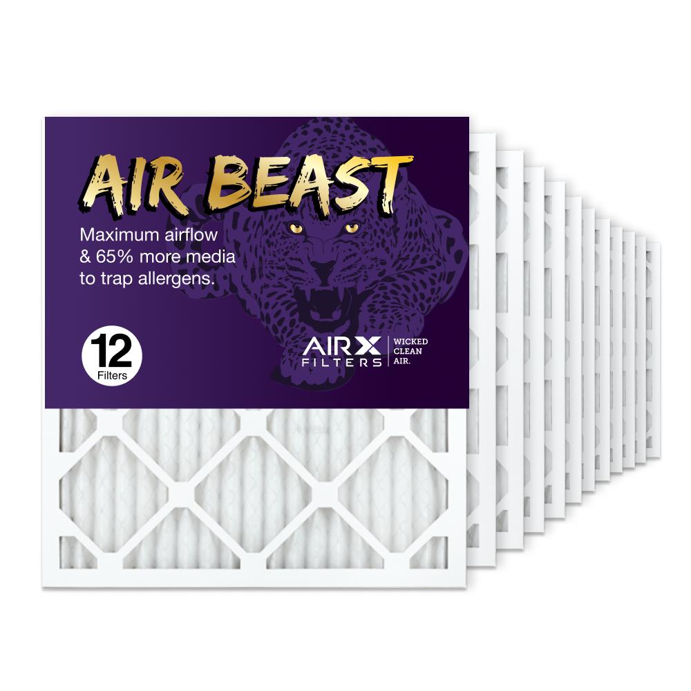 18x20x1 AIRx Air Beast High Flow Air Filter, 12-Pack