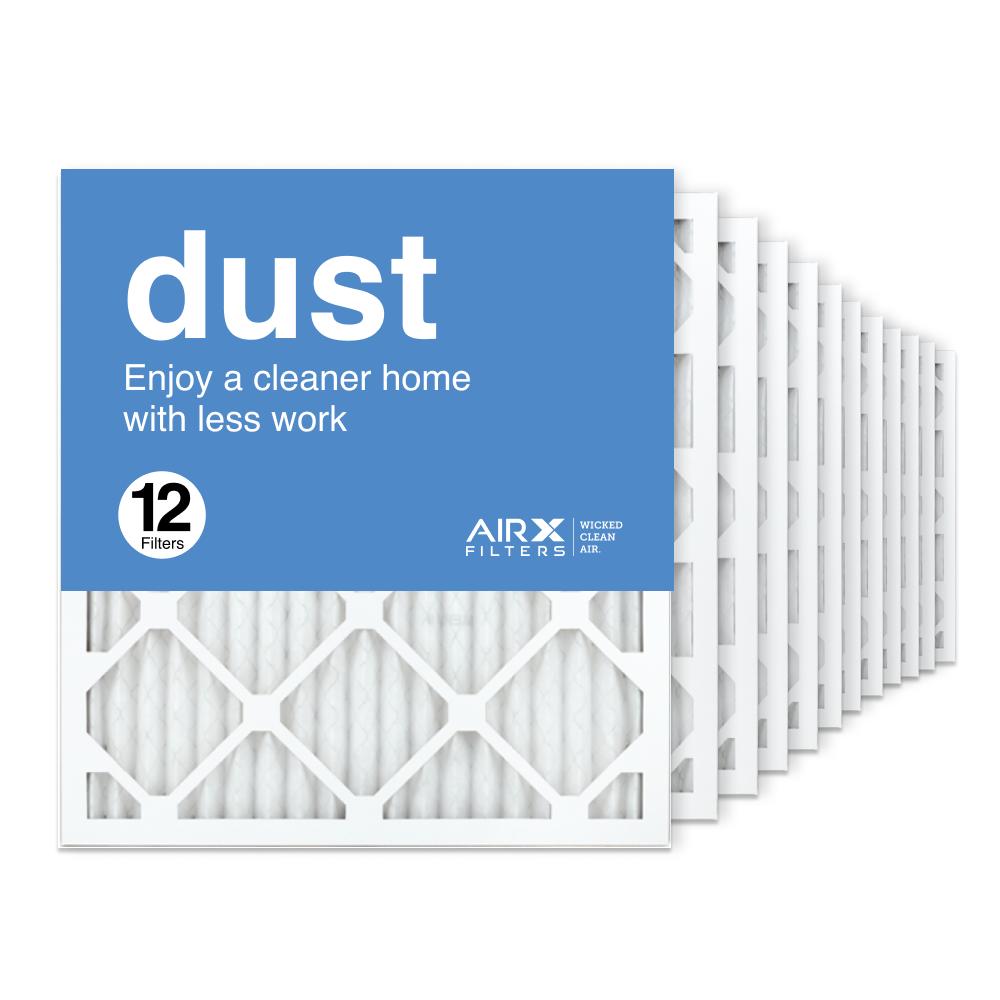 18x20x1 AIRx DUST Air Filter, 12-Pack