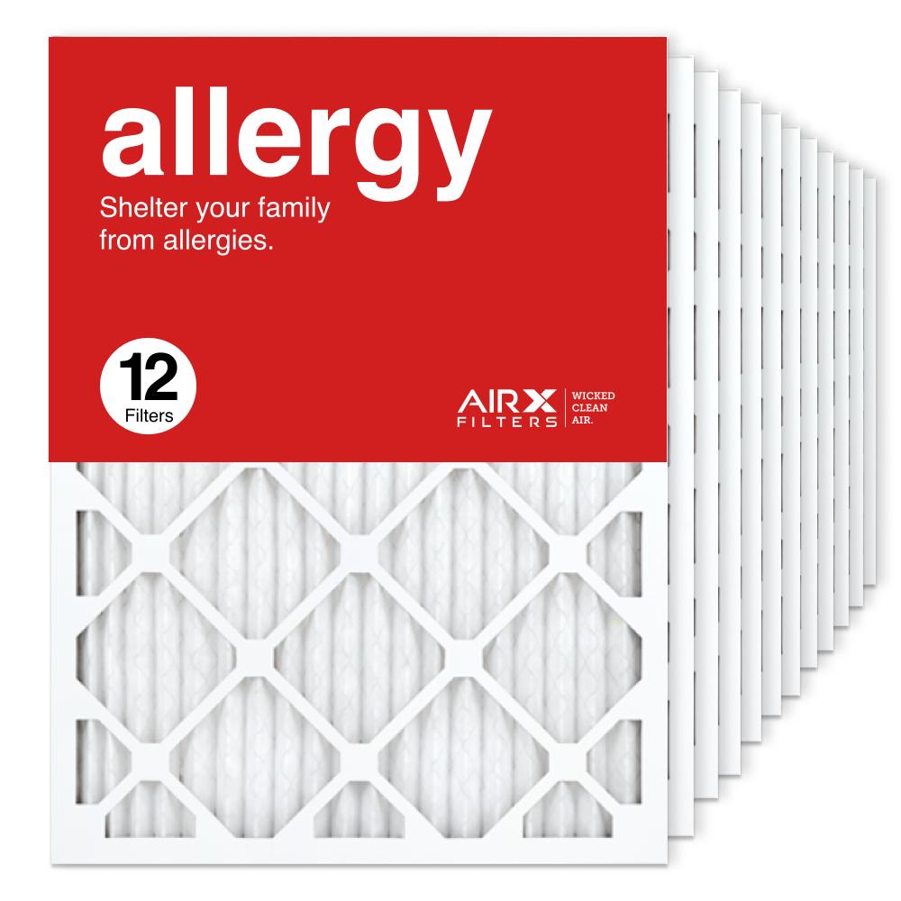 18x24x1 AIRx ALLERGY Air Filter, 12-Pack