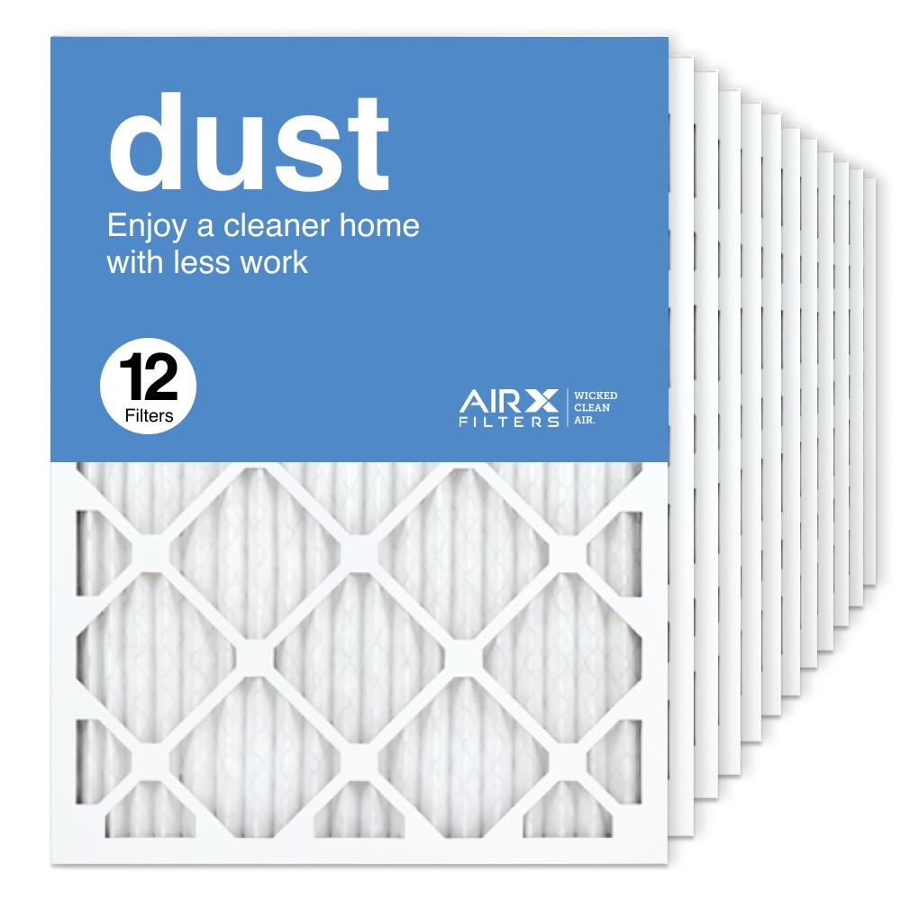 18x24x1 AIRx DUST Air Filter, 12-Pack