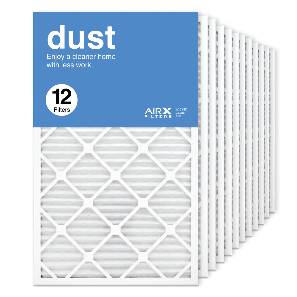 18x30x1 AIRx DUST Air Filter, 12-Pack