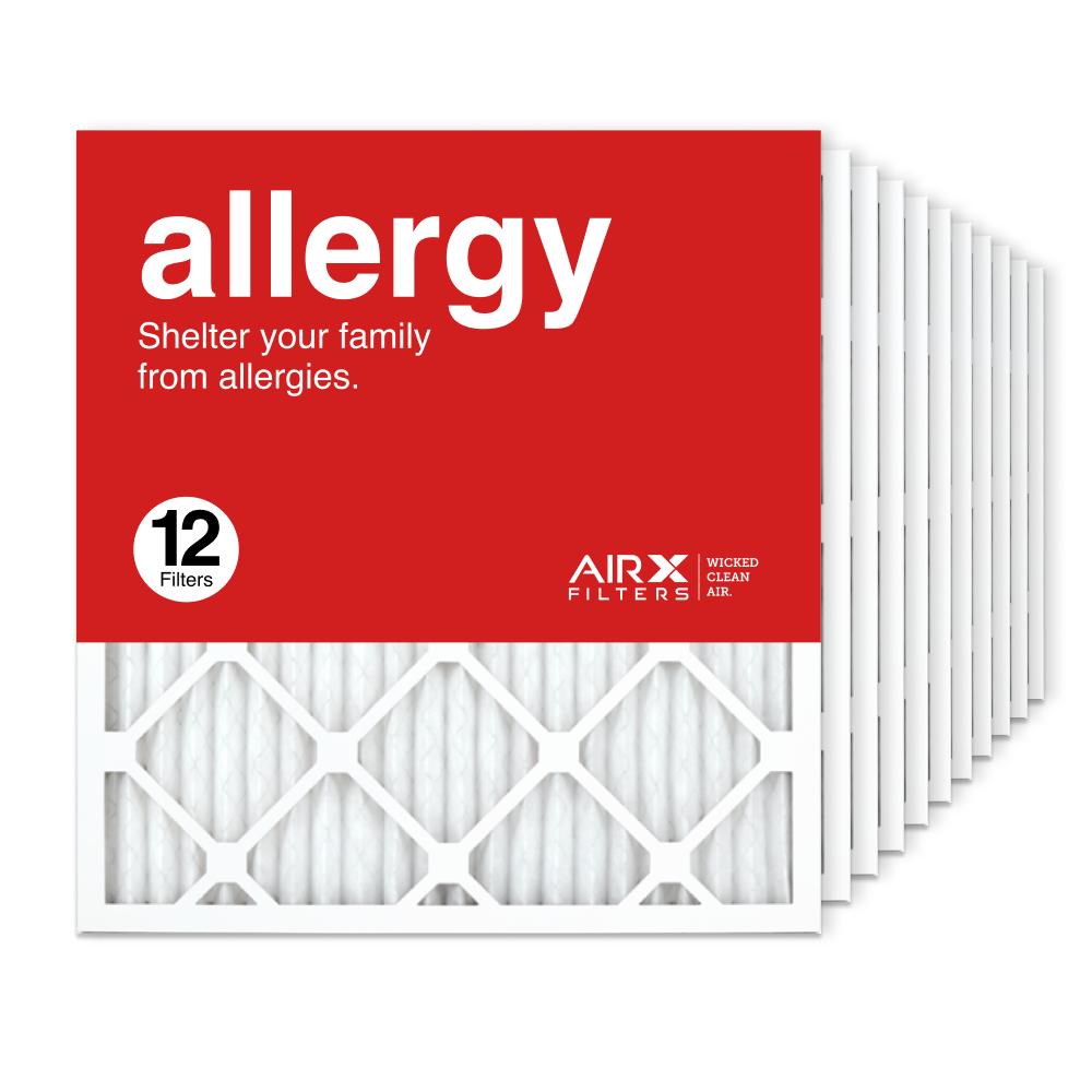 19.75x21.5x1 AIRx ALLERGY Air Filter, 12-Pack