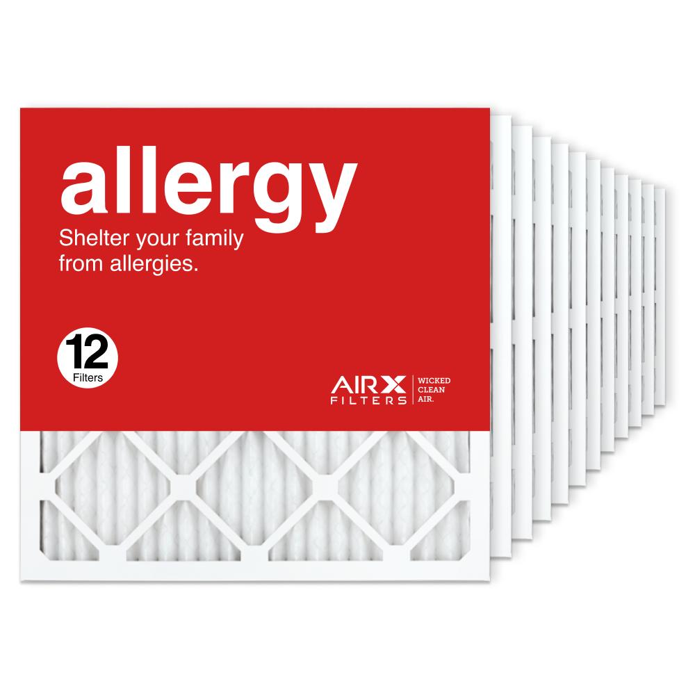 20x20x1 AIRx ALLERGY Air Filter, 12-Pack