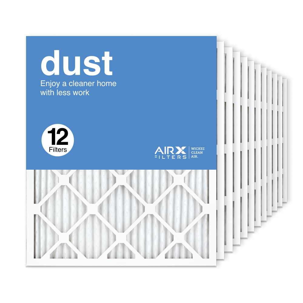 20x24x1 AIRx DUST Air Filter, 12-Pack