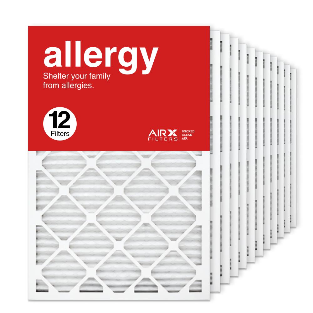 20x30x1 AIRx ALLERGY Air Filter, 12-Pack