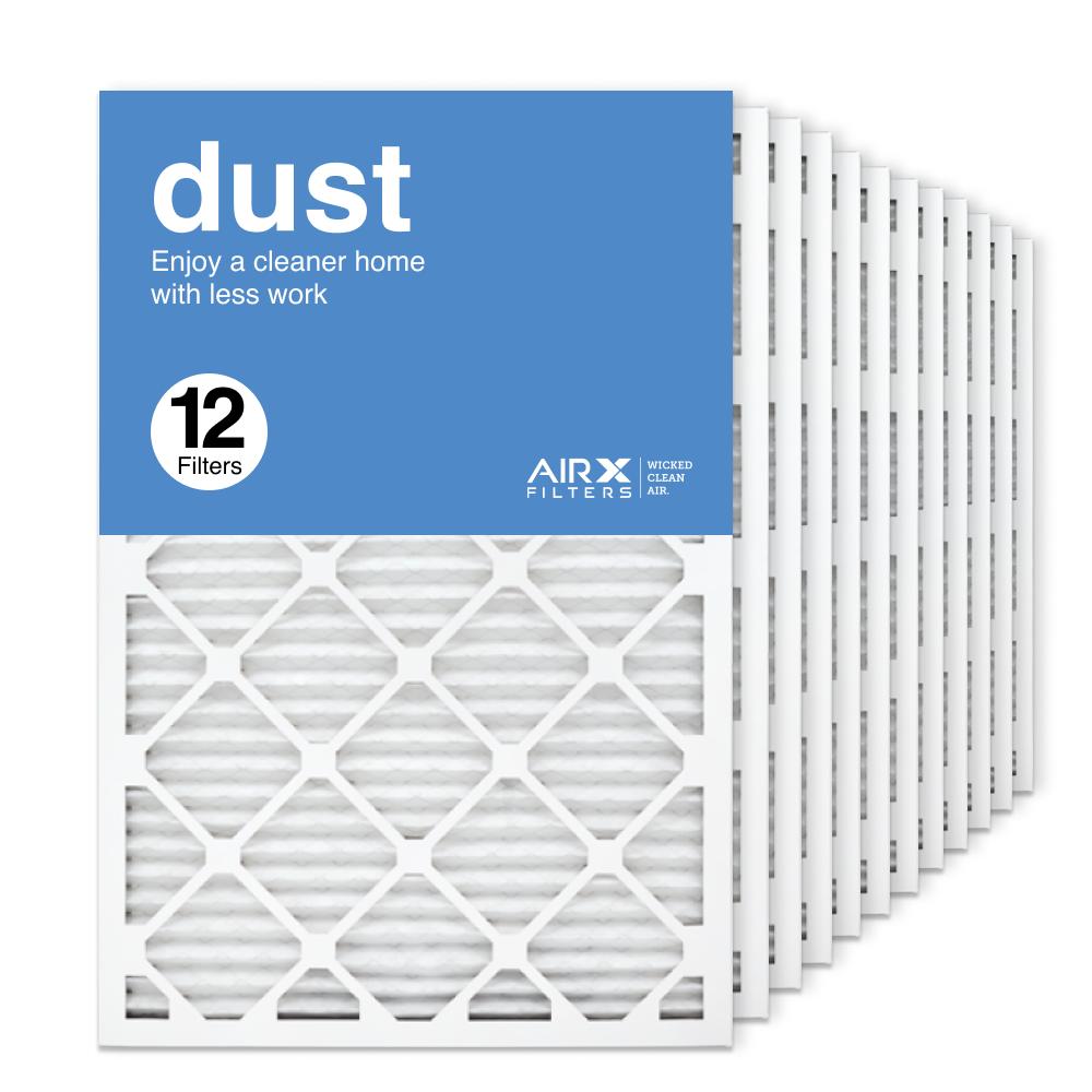 20x30x1 AIRx DUST Air Filter, 12-Pack