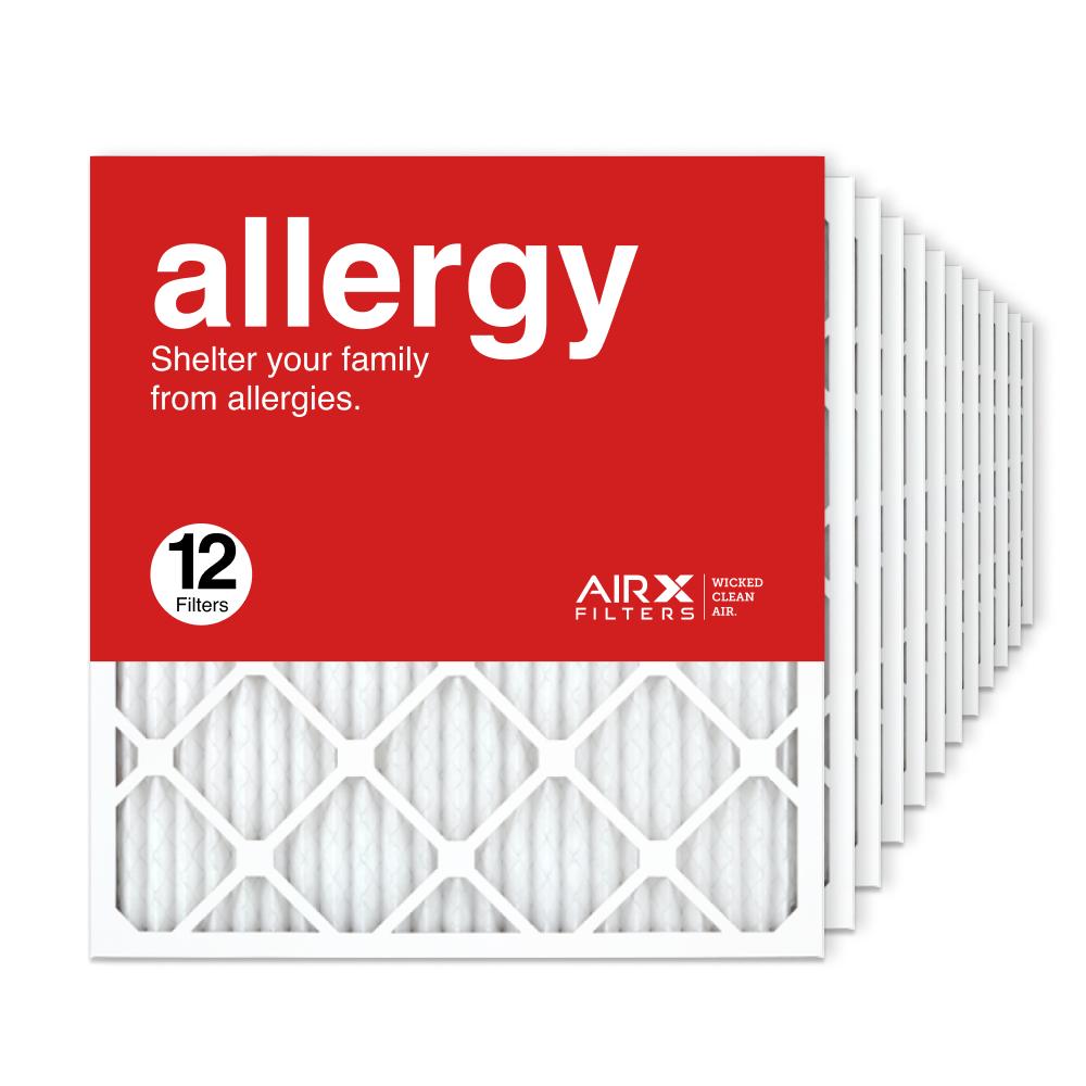 21.5x23.5x1 AIRx ALLERGY Air Filter, 12-Pack