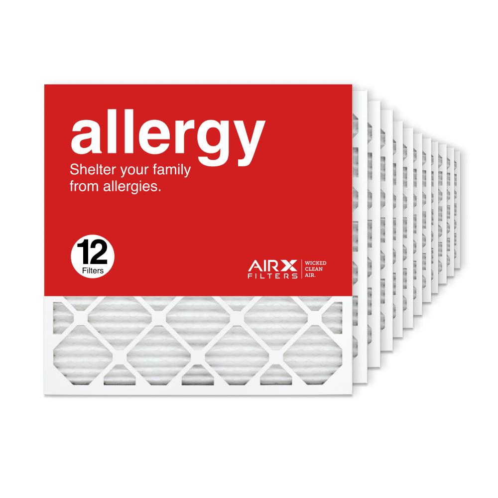 24x24x1 AIRx ALLERGY Air Filter, 12-Pack