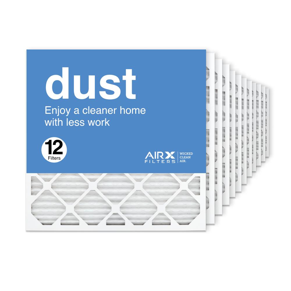 24x24x1 AIRx DUST Air Filter, 12-Pack
