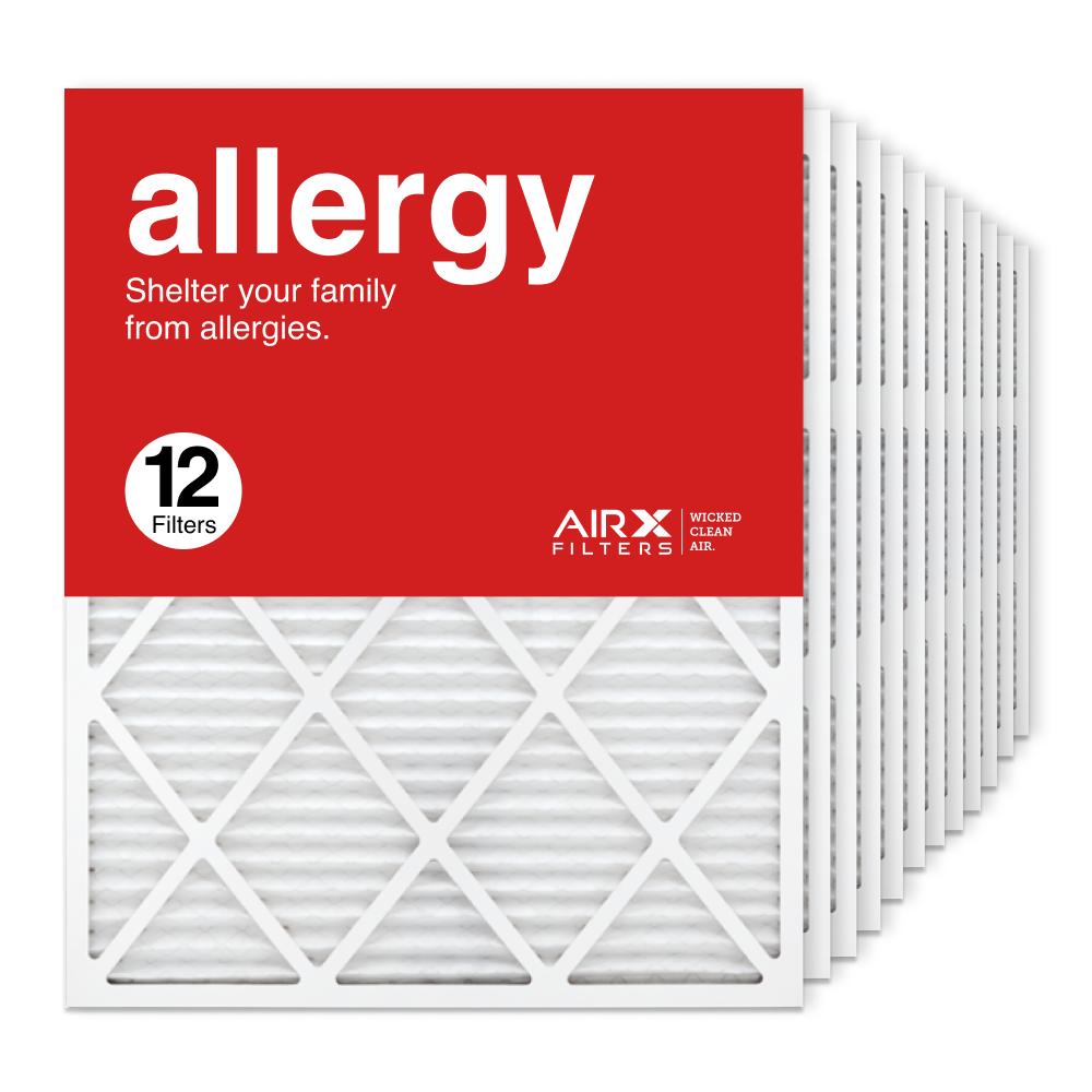 24x30x1 AIRx ALLERGY Air Filter, 12-Pack