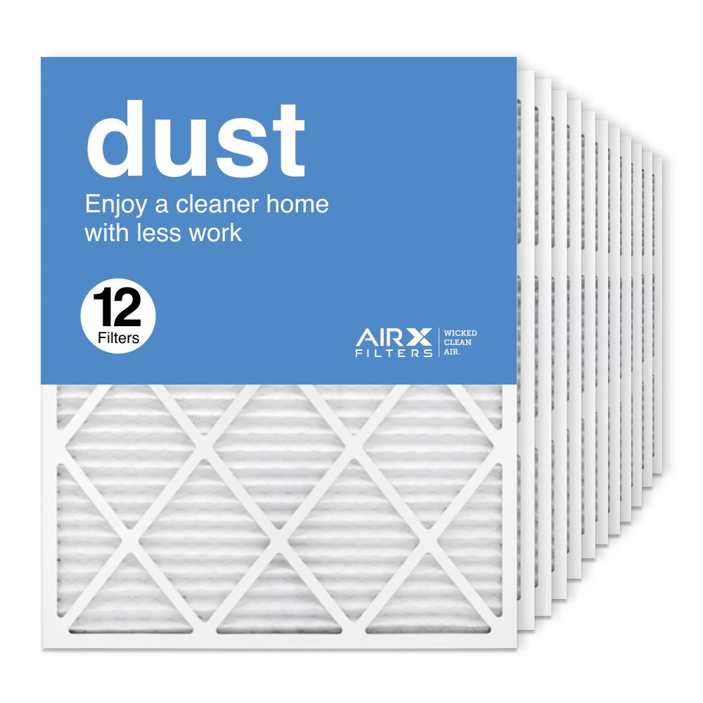 24x30x1 AIRx DUST Air Filter, 12-Pack