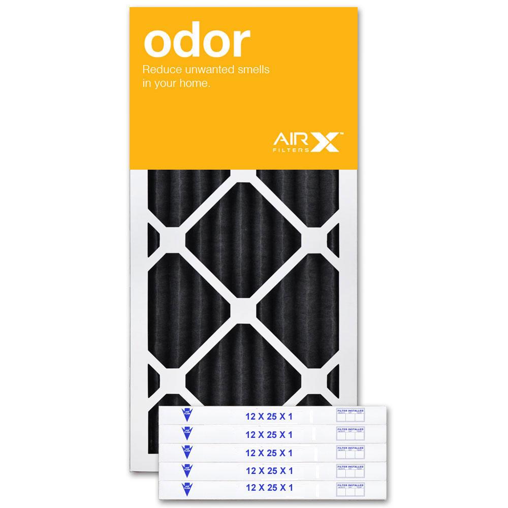 12x25x1 AIRx ODOR Air Filter - CARBON