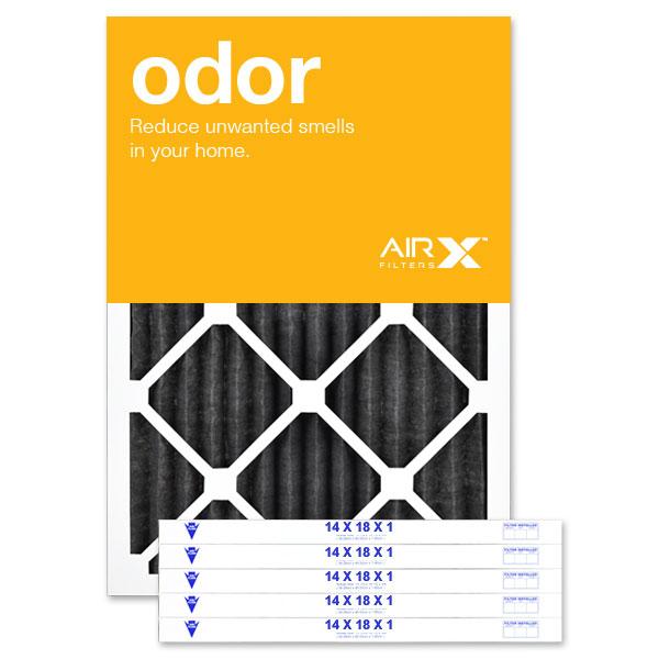 14x18x1 AIRx ODOR Air Filter - Carbon MERV 8