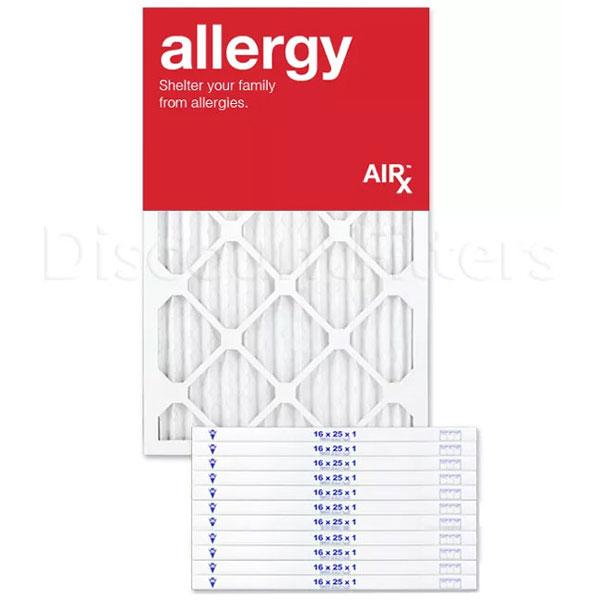 16x25x1 AIRx ALLERGY Air Filter - MERV 11