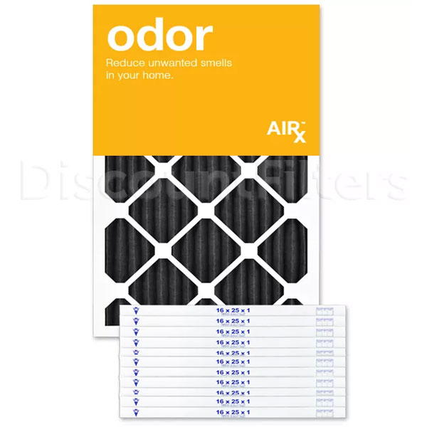 16 X 25 X 1 Carbon Odor Reduction Pleated Filter
