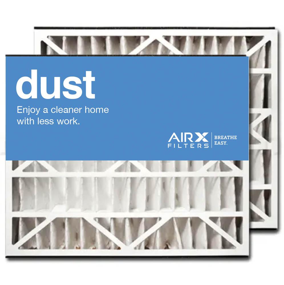 20x25x5 AIRx DUST Field Controls # 46586000 Replacement Air Filter - MERV 8