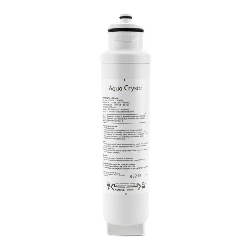 Daewoo / Kenmore DW2042FR-09 Refrigerator Filter, 3 Pack