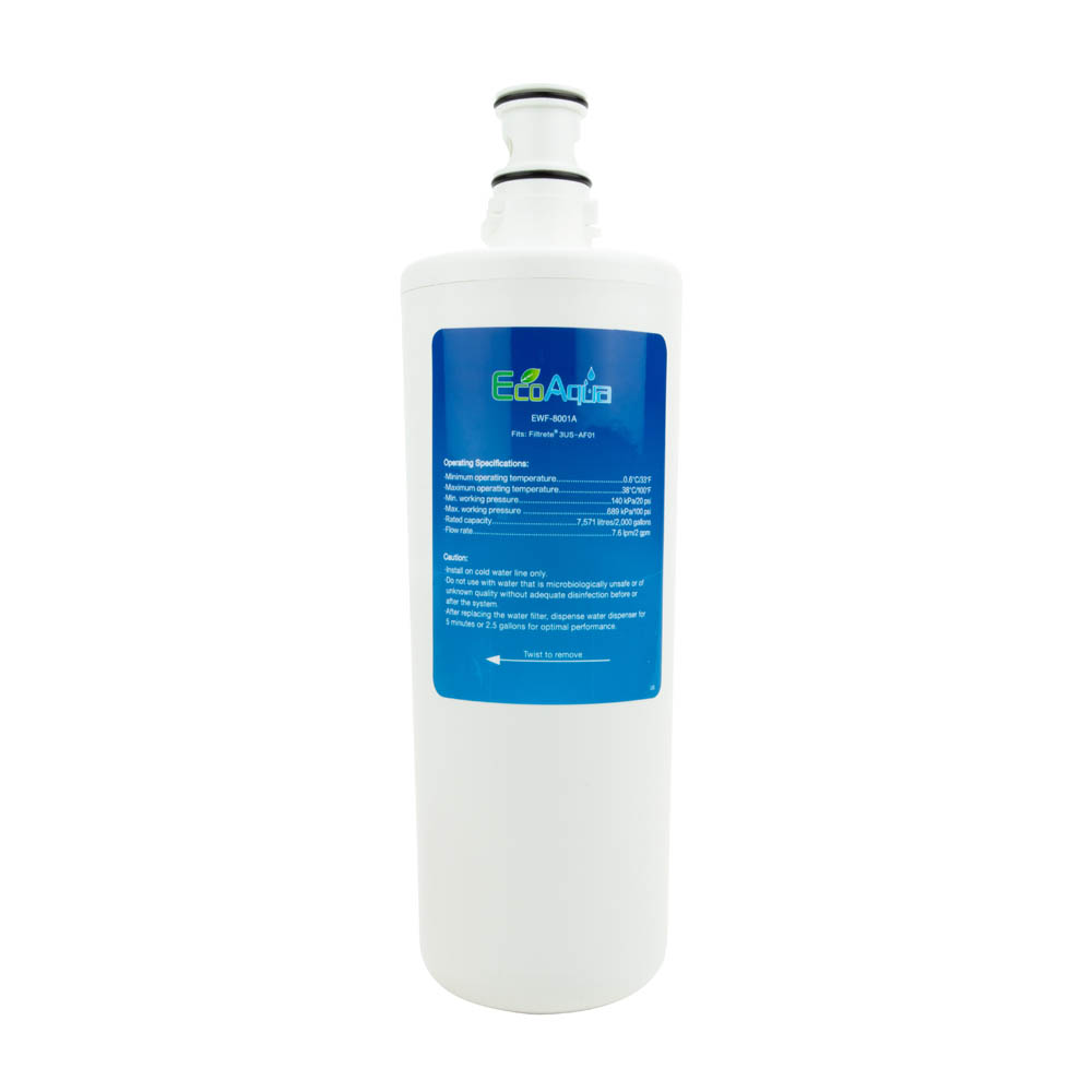 EcoAqua Replacement for 3M 3US-AF01 Under Sink Filter