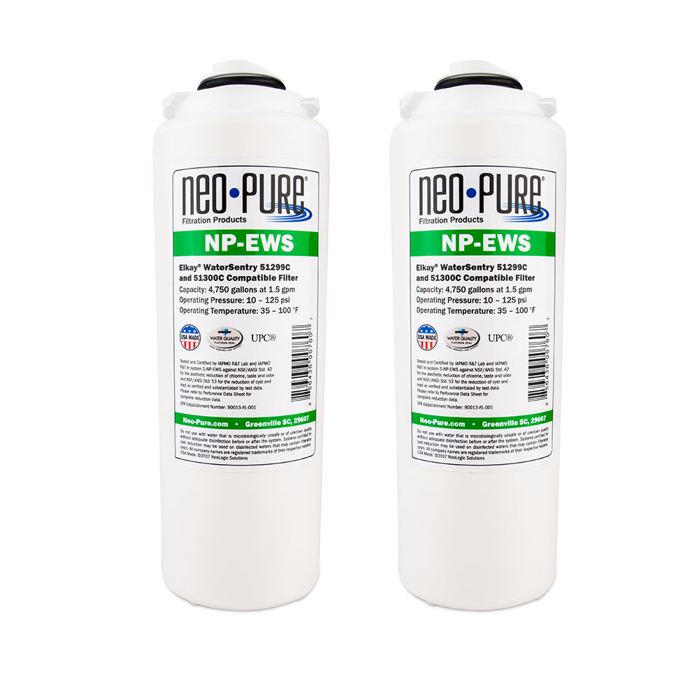 Neo-Pure Replacement Filter for Elkay® Drinking Fountains