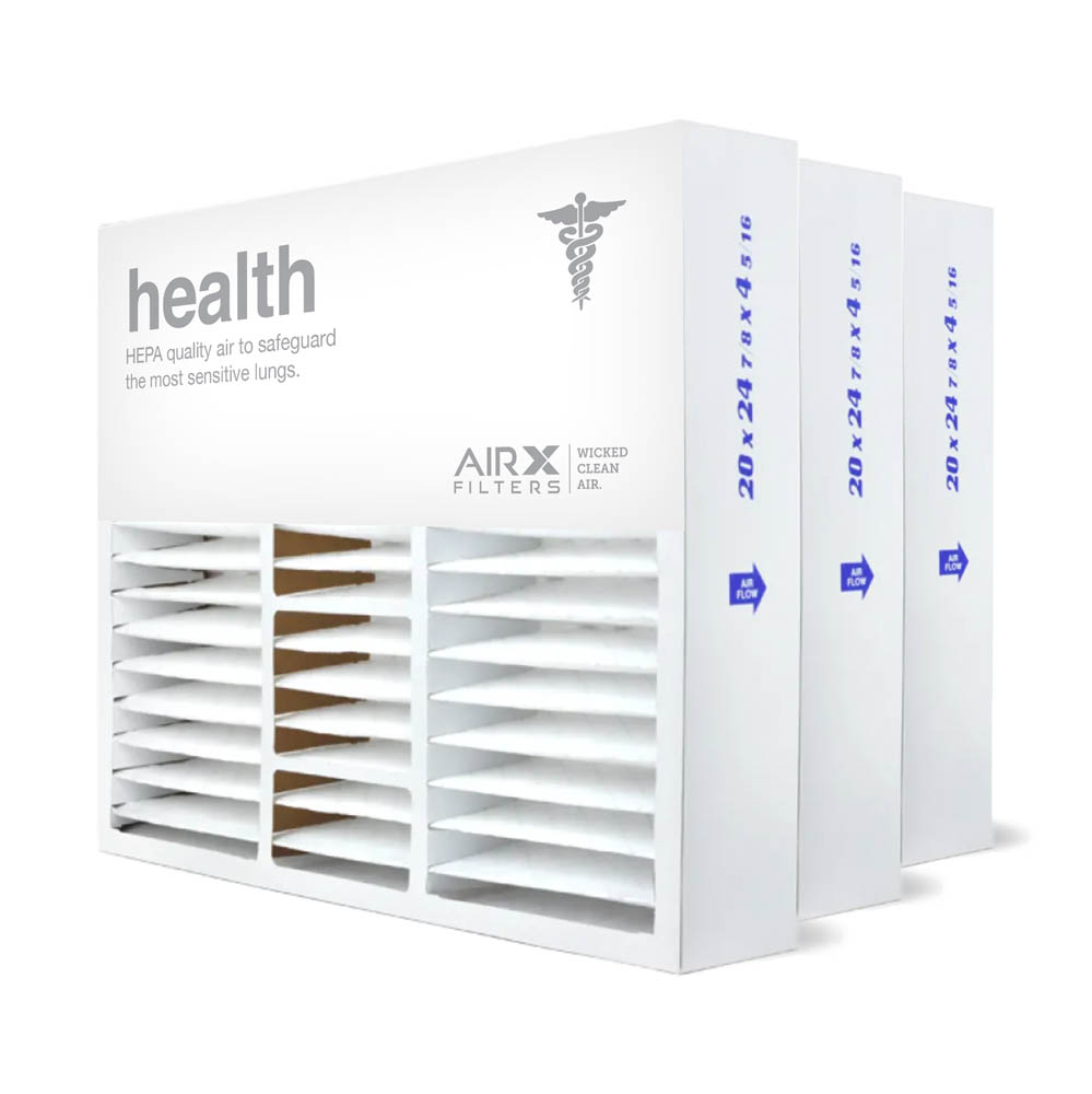 20x25x5 AIRx HEALTH Honeywell FC100A1037 Replacement Air Filter - MERV 13, 2 pack