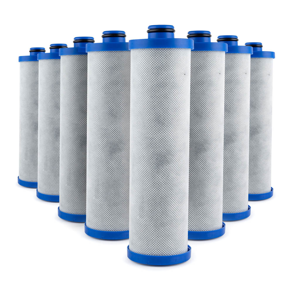 Replacement Water Filter (KW1) for Built-In RV Water Filtration Sytems, 4-pack