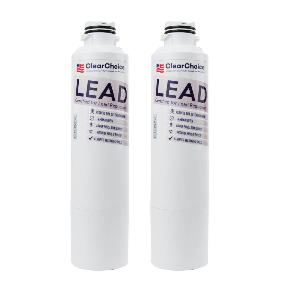 ClearChoice Replacement for Samsung DA29-00020B Filter -  Lead Reduction, 3-Pack