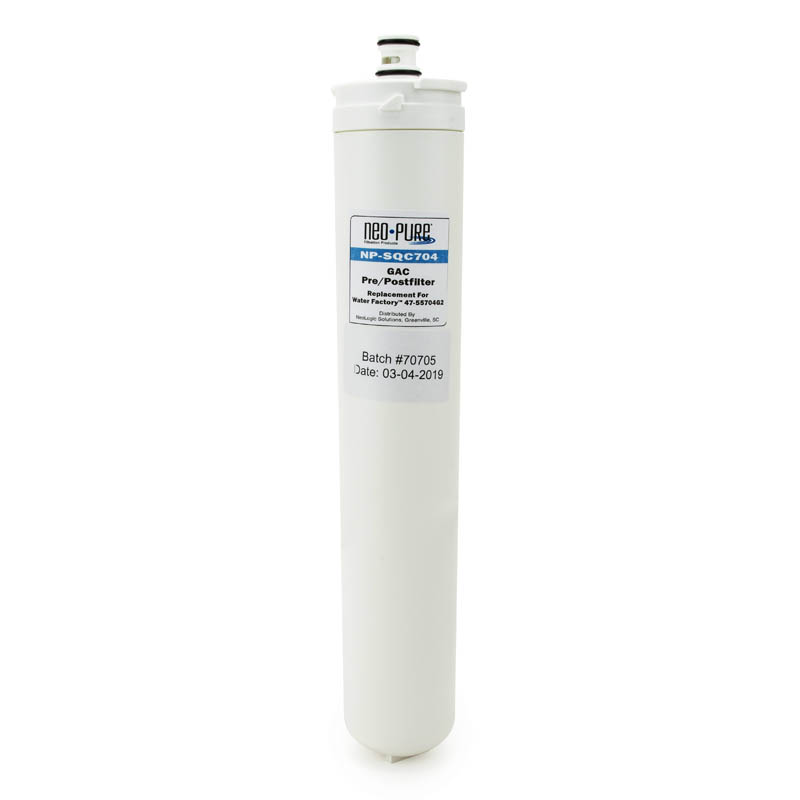 Neo-Pure SQC Compatible GAC Carbon Filter for 47-55704G2