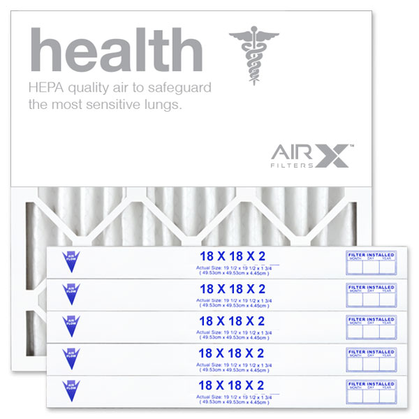 18x18x2 AIRx HEALTH Air Filter - MERV 13