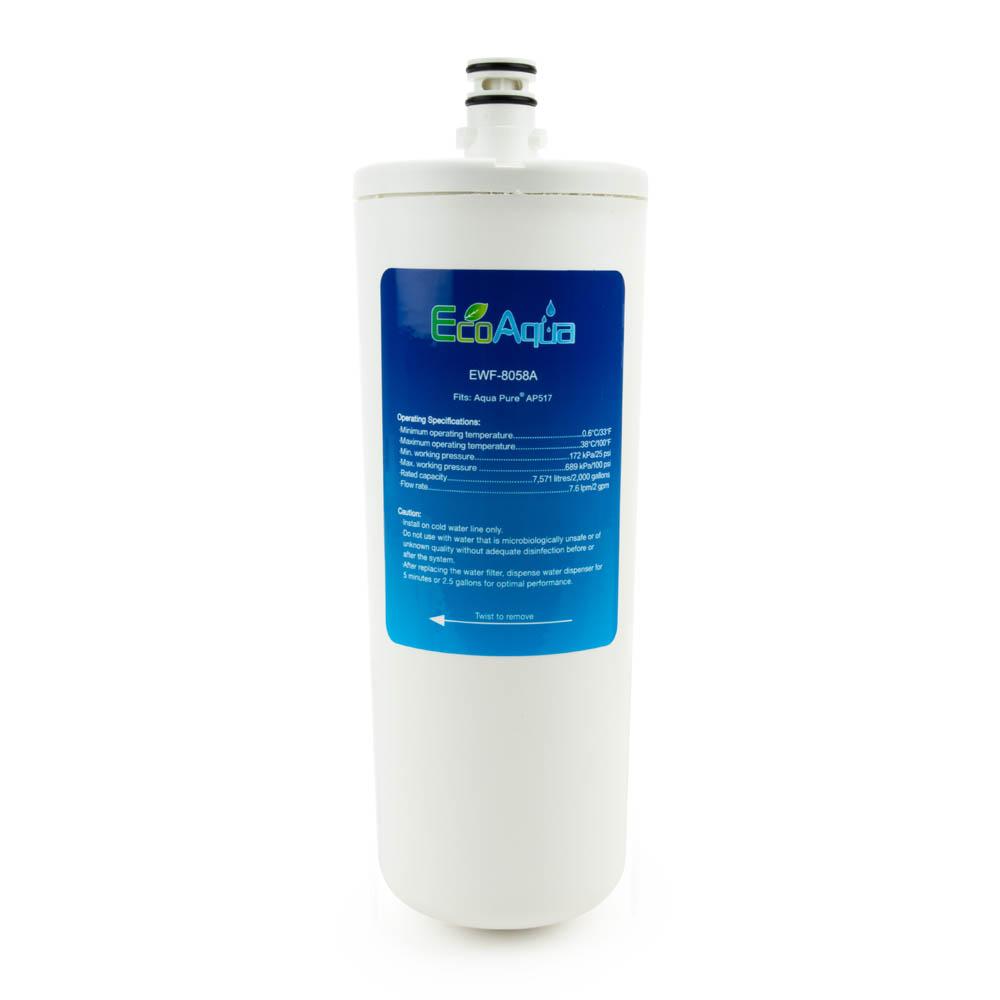 EcoAqua Replacement for Aqua-Pure® AP517 Filter
