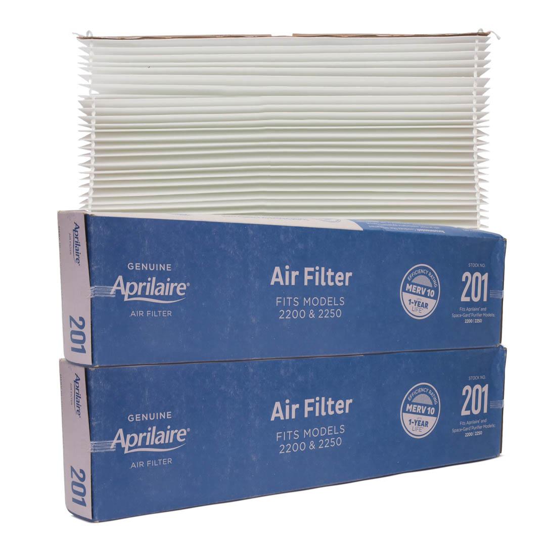Original Aprilaire #201 Filter For 2200 Air Cleaner, 2-Pack