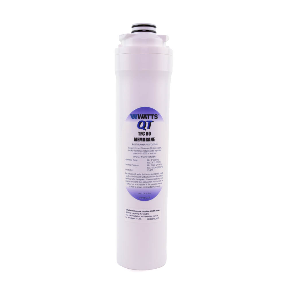 Watts WQTCM50-10 Twist In Reverse Osmosis Membrane