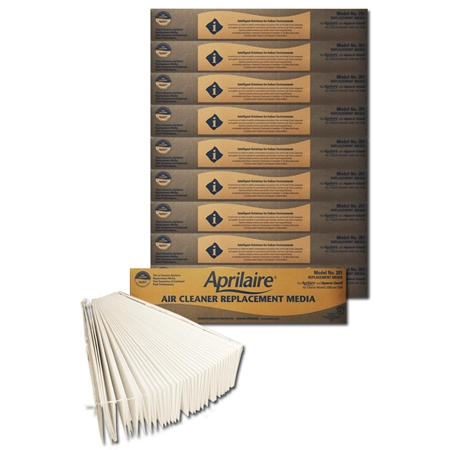 Original Aprilaire #201 Filter For 2200 Air Cleaner, 10-Pack