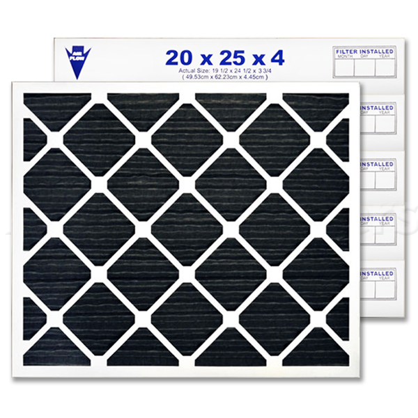 20x25x4 AIRx ODOR Air Filter - CARBON