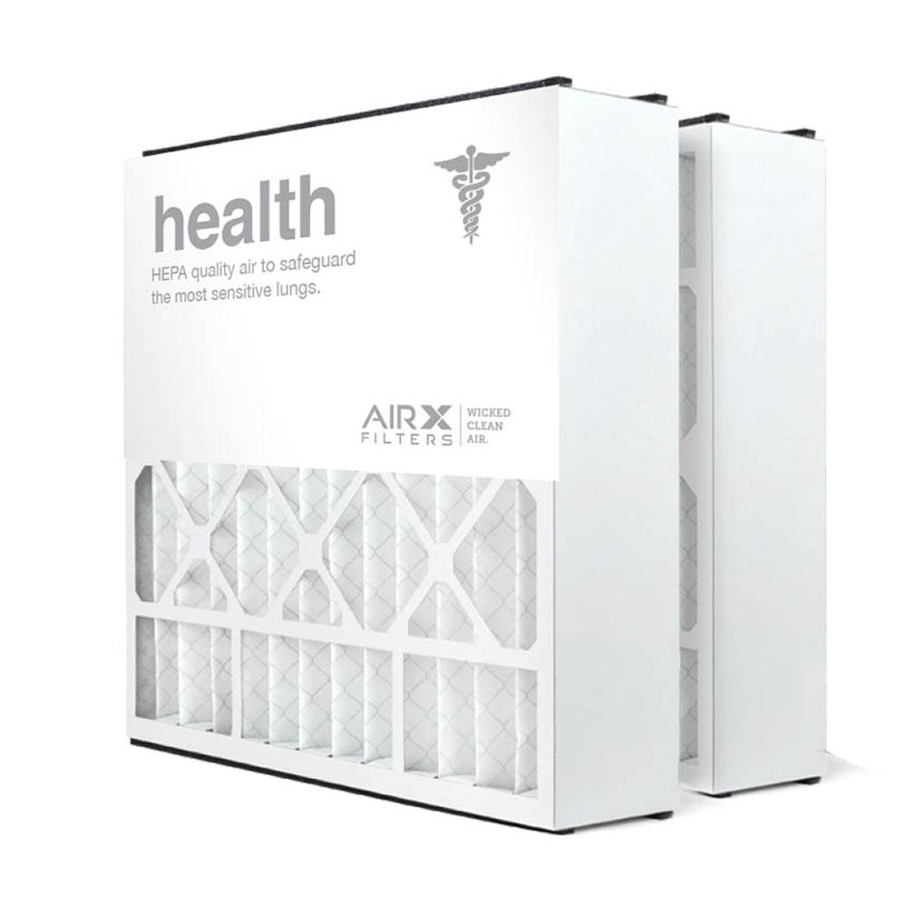 20x20x5 AIRx HEALTH Air Bear 255649-103 Replacement Air Filter  - MERV 13, 2-Pack