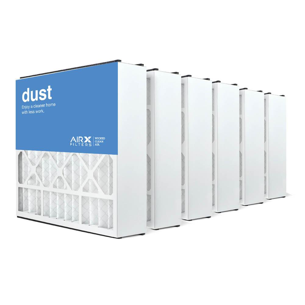 20x20x5 AIRx DUST Air Bear 255649-103 Replacement Air Filter - MERV 8, 2-Pack